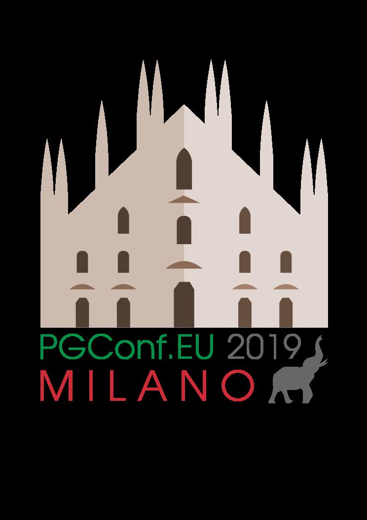 PGConf EU, Milan Italy